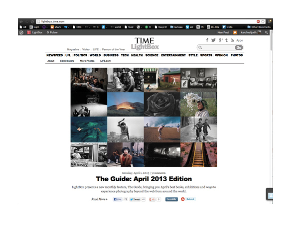 Time Magazine's LightBox