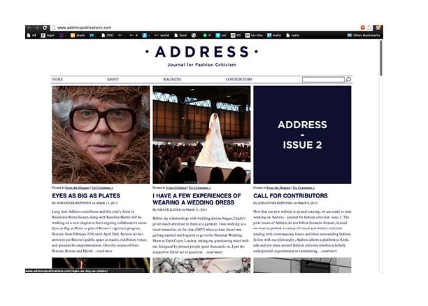 Address Magazine