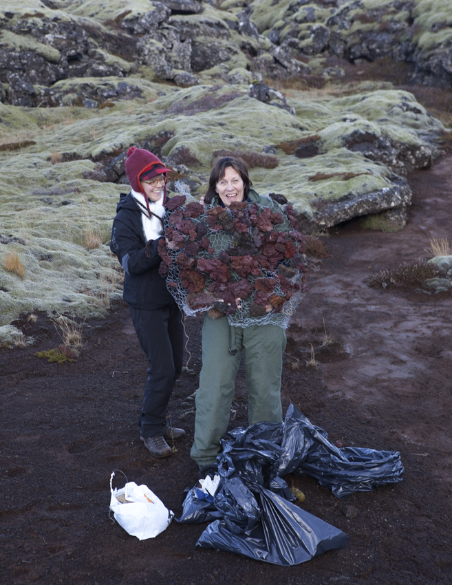 Erna is a nurse, painter and nature enthusiast © Karoline Hjorth & Riitta Ikonen