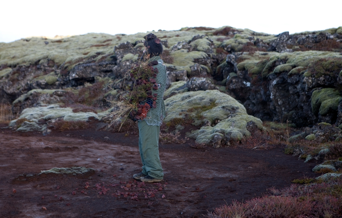 Erna goes out wearing the traditional knee socks once or twice a week, and has done so over three decades (before it was cool) © Karoline Hjorth & Riitta Ikonen