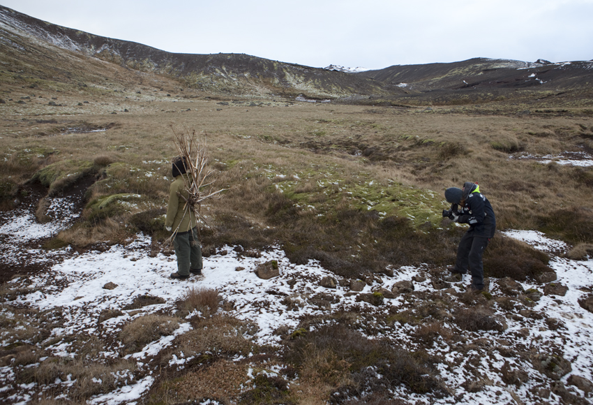And the second shoot begins © Karoline Hjorth & Riitta Ikonen