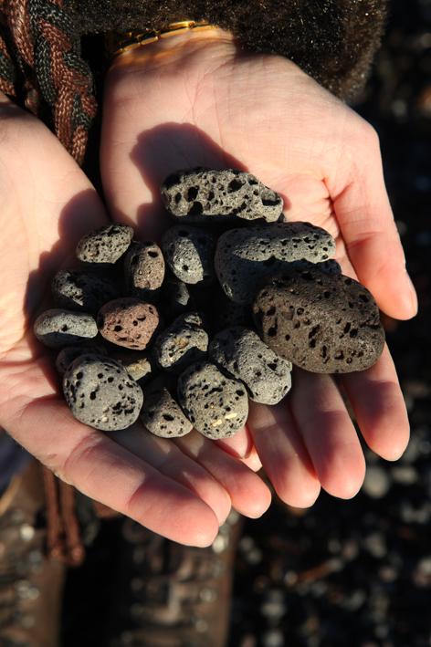 Lava pebbles © Karoline Hjorth & Riitta Ikonen