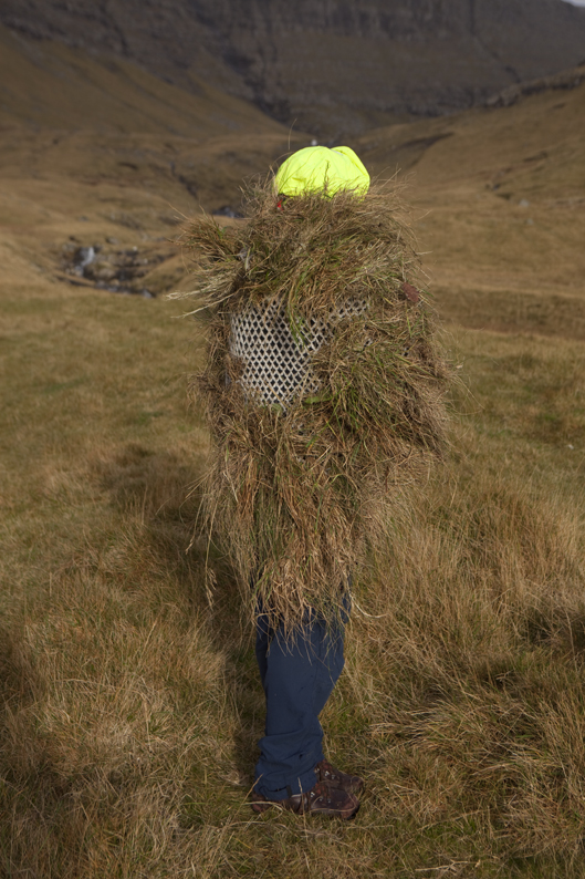 We know by now to make the outfits as light as possible...some aeration at the back here © Riitta Ikonen and Karoline Hjorth