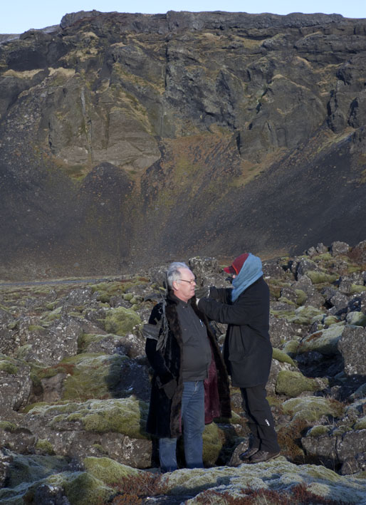 Today Ólafur joined the rockary © Karoline Hjorth & Riitta Ikonen