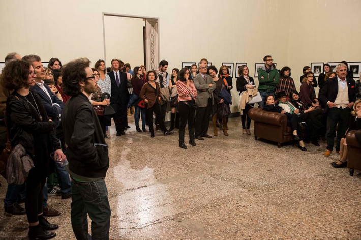 From the vernissage at Galleria del Cembalo © Camera 21