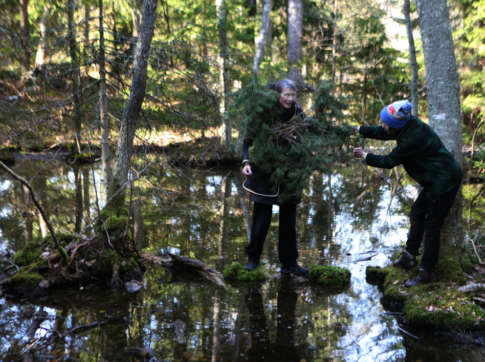A little pitstop on our way out to Knäppelskär, this little puddle had as pull out the cameras for a little moment ® Karoline Hjorth & Riitta Ikonen