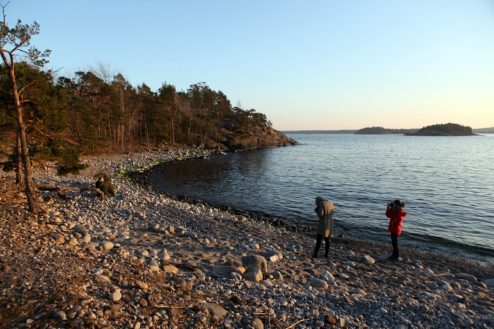 It was all action until the sun went down ® Karoline Hjorth & Riitta Ikonen