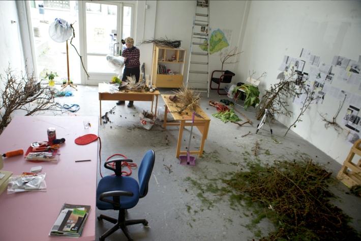 Our kind of studio (Sandnes in 2011, where it all started) © Karoline Hjorth & Riitta Ikonen